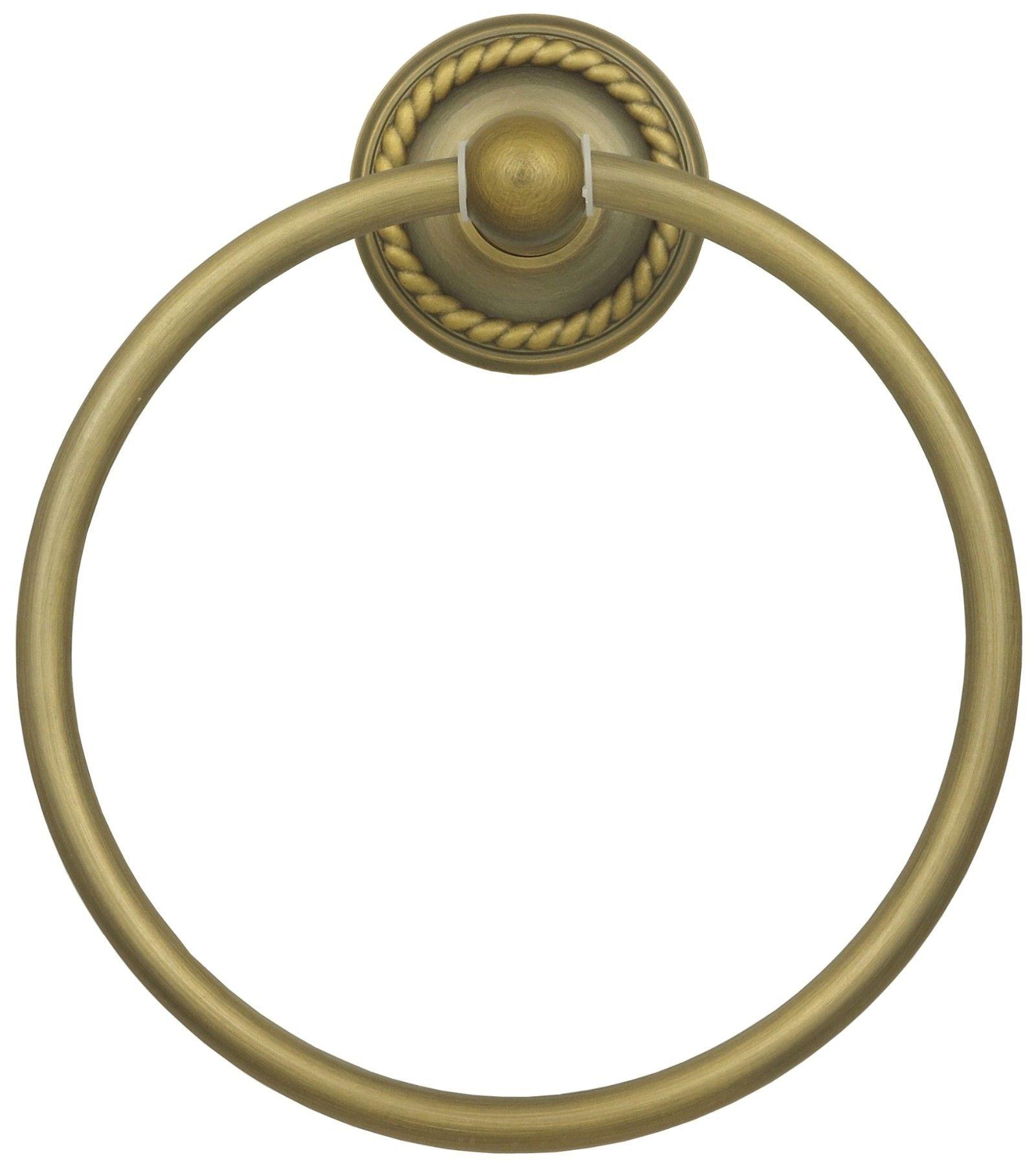 Vintage Handtuchring Retro Handtuchhalter Ring in Antik