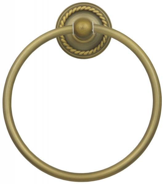 Handtuchring Antik Handtuchhalter Ring 17cm Durchmesser Retro Vintage 9007